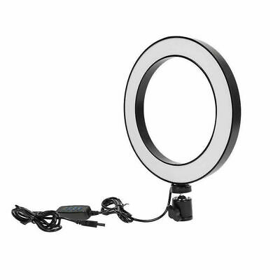 28cm LED Ring Light Camera Photo 3200-5500K Dimmable LED Ring Lamp Without Stand