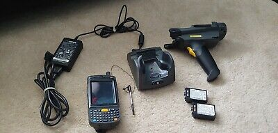 Motorola MC75A MC75A6-PUCSWQRA9WR Mobile Barcode Scanner bundle WIth Dock Cradle