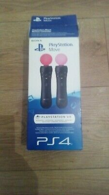 2x PlayStation 4 psvr move motion controllers ps4/ps3. Dispatched same day