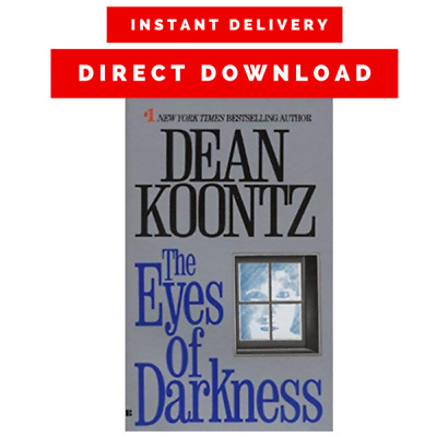The Eyes Of Darkness By Dean Koontz {P.D.F}🔥 Instant Delivery 🔥