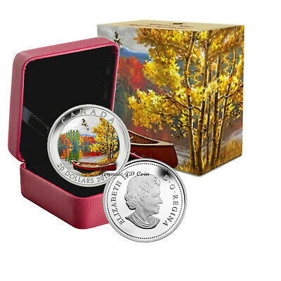 2013 Canada $20 Autumn Bliss Fine Silver Coin (126)