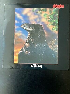 The Stranglers~The Raven~Lp~3D Hologram Cover~Uag 30262~United~Made In Uk~1979
