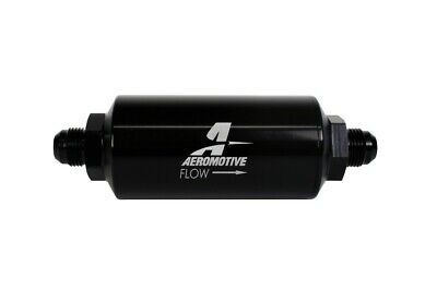 Aeromotive In-Line Filter - AN-08 size Male - 10 Micron Microglass Element -