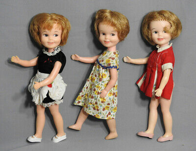 "Vintage Usa Deluxe Reading Penny Brite Dolls Lot 8,5"" Original Outfit 1960'S"