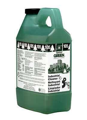 Spartan Green Solutions Concentrated Chemical Industrial Cleaner USA MADE