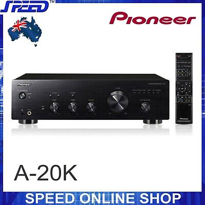Pioneer A-20K 2CH A+B Stereo (50W+50W) Integrated Amplifier - AMP - BLACK