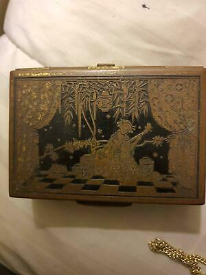 Antique Japanese small box