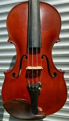 Old French Violin by '' Georges APPARUT '' signed 1927 n°277 MINT condition