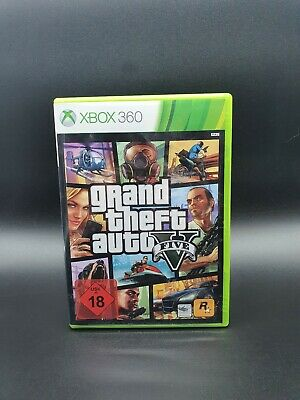 Gta 5 / Grand Theft Auto V (Microsoft Xbox 360, 2013, DVD-Box)