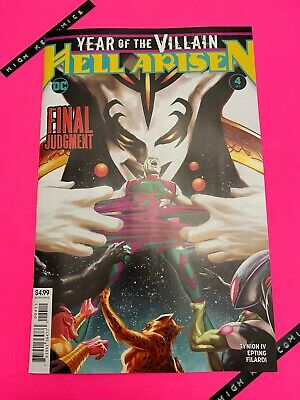 Year Of The Villain Hell Arisen #4 Steve Epting Cover A DC Comics 2020 NM