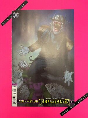 Year Of The Villain Hell Arisen #4 Variant Riccardo Federici Cover B DC 2020 NM