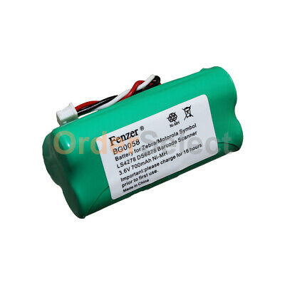 Battery for Motorola SYMBOL DS LI LS Series Bar Code Scanner, K35466 82-67705-01