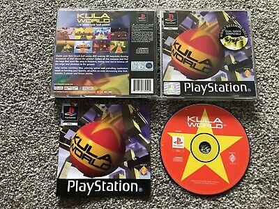 Kula World Sony Playstation 1 Ps1 Ps2 Ps3 Game With Manual Official Uk Pal