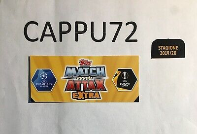Topps Match Attax Extra -Only In Italy-Champions League- 2019/20