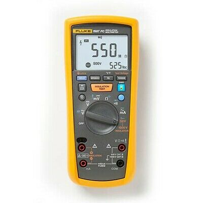 Fluke 1587FC True-RMS Megohmmeter/Insulation Resistance Tester and Multimeter