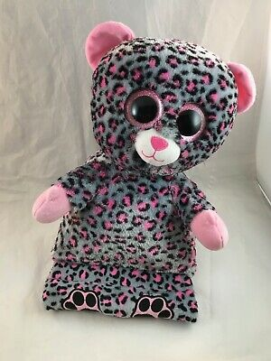 Trixi the Leopard TY Beanie Babies Peek A Boos 15 Tablet Holder 60002