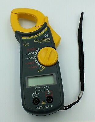 Yokogawa Clamp-on Tester AC Current Voltage CL130 Meter Tool
