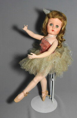 Vintage Valentine Walking Ballerina Holiday Doll Original Outfit 1957 Usa 18""