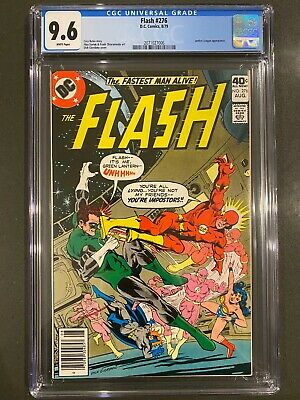 THE FLASH #276 CGC 9.6 NM+ White Pages! Justice League Cover & Appearance!