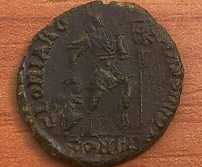 "Roman Empire-Valens 364-378 AD AE Follis ""GLORIA RO-MANORVM"" Constantinople mint"