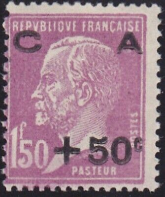 France 1928 Timbres N° 251 Neuf ** Caisse Amortissement - Cote 120€ - Voir Verso