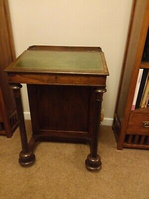 Antique Regency rosewood davenport. Overall good condition. Please see photos.