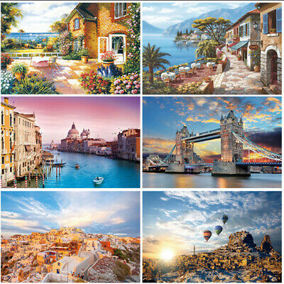 1000 Piece Large DIY Jigsaw Puzzle Animals Landscapes 70X50 CM Decompress Toys