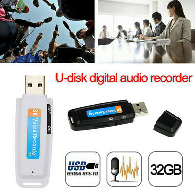 USB Mini Voice Recorder Digital Hidden Record Mini Drive Audio Recording Device