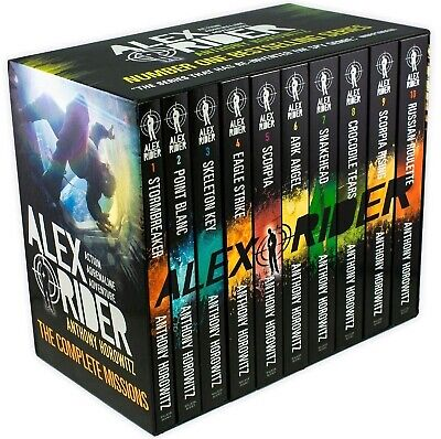 Alex Rider The 10-Book Collection by Anthony Horowitz - Brand New and Sealed