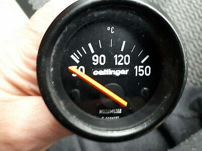 52mm MotoMeter / Oettinger Öltemperaturanzeige  Oldtimer / Youngtimer 12 Volt