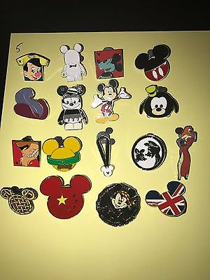 Disney Pin Trading Lot of 10 Assorted Pins NEW No Doubles 100% Trad-able  Disney