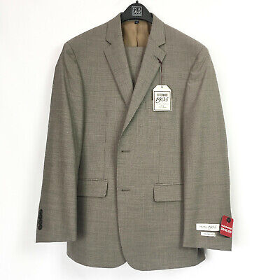 Jos. A Bank Mens 40R 34W Tailored Fit Suit 1905 2 Piece Jacket Pants Joseph NWT