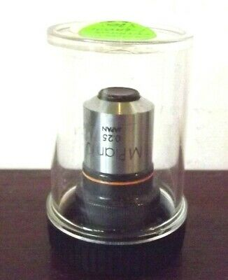 Olympus Mplan 10 0.25 10X Microscope Lens  Used
