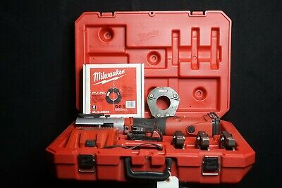 "Milwaukee M18 Cordless FORCE LOGIC Press Tool Kit 1/2"" - 2 BIP Propress"