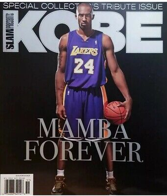 Slam Presents Special Collector's Issue Kobe Bryant Mamba Forever Brand New!