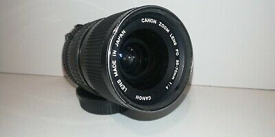 Canon FD 35-70mm 1:4 Manual Focus Zoom  Inc Cap