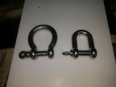 shackles stainless steel