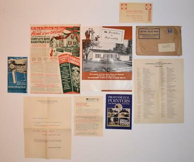 ca. 1950s architecture WEYERHAEUSER HOME BUILDING PLANNING PACKAGE, ST. PAUL MN