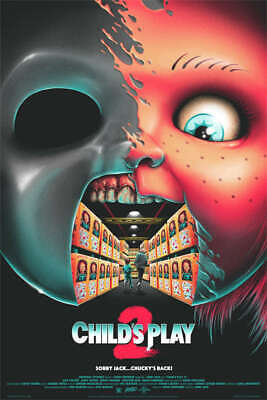 Matt Ryan Tobin CHILD'S PLAY 2 Poster Mondo Print Horror Chucky Good Guy RARE
