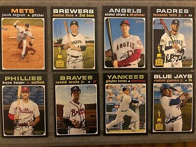 2020 Topps Heritage High Number Short Print 401-500 Complete Your Set - You Pick