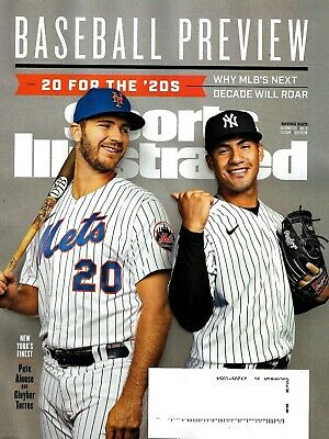 baseball preview MLB tigers SPORTS ILLUSTRATED MAGAZINE- SPRING 2020