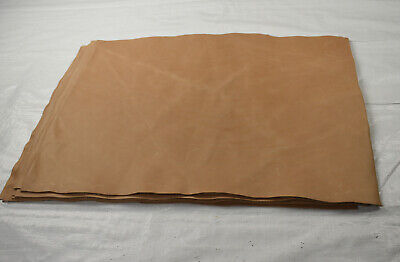 Natural Embossing leather Panels - Combination Tanned cowhide pieces 66 x 53 cm