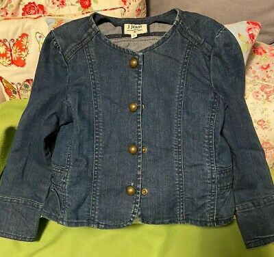 Girls J By Jasper Conran At Debenhams Denim Jacket, Age 6 Fantastic Condition