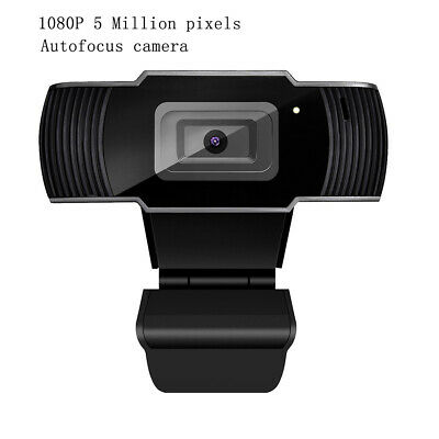 5 Megapixel Auto Focusing Webcam USB Digital Full HD 1080P Web Camera Home Work