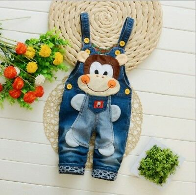 Baby Boys Kids Clothing Pants Denim Clothes Boy Bottoms Trousers Jeans Overalls