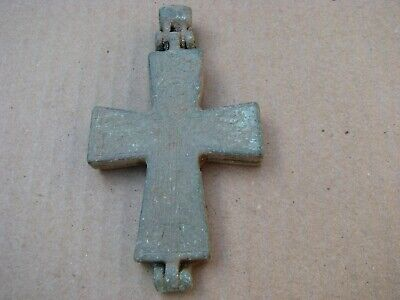 Roman Byzantine Bronze Cross -Encolpion
