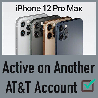 At&T Premium Unlock Service Past Due/Active On Another Account 11 Pro Max Xs Xr