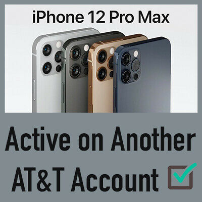 Premium Unlock Service Past Due/Active On Another Account At&T 11 Pro Max Xs Xr