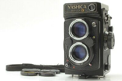 [N.Mint meter works] Yashica Mat 124G 6x6 TLR Medium Format + 80mm f/3.5 from JP