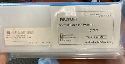 Mutoh Eco-Solvent Ultra Ink (220 mL) - Cyan